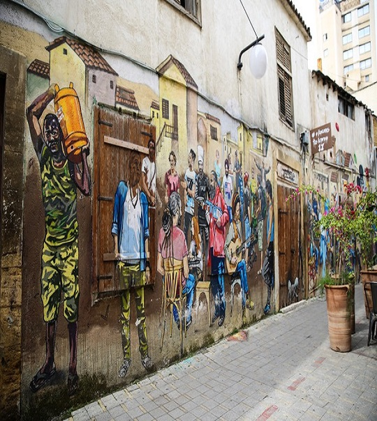A Street Art Tour of Old Nicosia